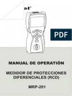 Mrp-201 Medidor de Disyuntores