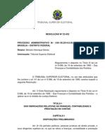 Resolucao 23432 2014 Prestacao Contas Partidos Politicos