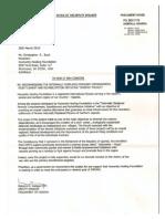 Endorsement Letter - Honorable Kadaga