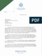 Gov. Andrew Cuomo's letter to Alcoa CEO Klaus Kleinfeld