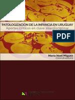 Patologizacion de La Infancia Maria Noel Miguez Coordinadora