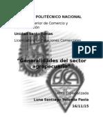 Generalidades Del Sector Agropecuario
