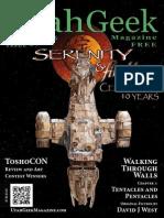 Utah Geek Magazine #7 (Sep-Oct 2015)