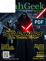 Utah Geek Magazine #8 (Nov-Dec 2015) Alternate Cover