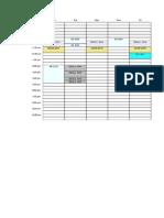 Fall 2014 Class Schedule ams