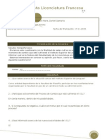 Encuesta Licenciatura Lengua Francesa