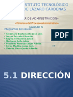 Taller de Administracion Unidad 5 ISC