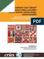 Regionalismo Post-liberal y Multilateral