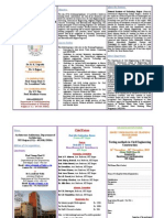 Brochure for STTP