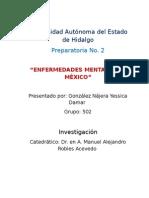 Enfermedades mentales en México