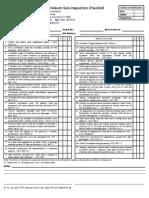Lpg Checklist