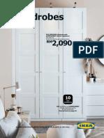In-store Range Brochure Wardrobe En