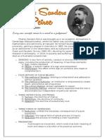 Philosophy of Charles Sanders Peirce