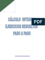 Calculo Integral Ejercicios Resueltos Paso a Paso
