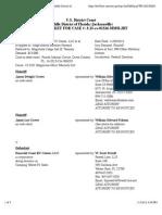 CROWE et al v. EMERALD COAST RV CENTER, LLC et al docket