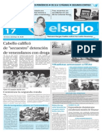 Edicion Impresa Elsiglo 17-11-2015