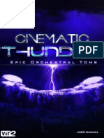 Cinematic Thunder Manual