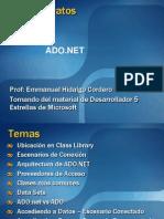 04 Módulo Acceso Datos .NET