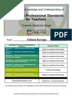 aitsl graduate recognition ecertificate 2015