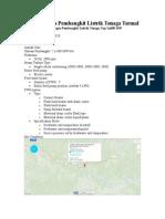 Rancangan PLTT Supercritical