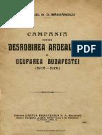 Campania pentru desrobirea Ardealului şi ocuparea Budapestei  1918-1920.pdf