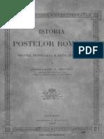 Istoria poştelor române  originea, desvoltarea şi legislaţia lor.pdf