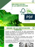 Certificacion FSC