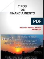 Tipos de Financiamiento CLASE