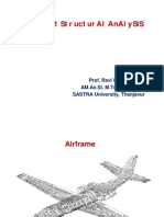 Aircraft Structural Analysis