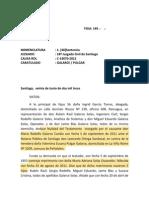 Nulidad y Reforma Del Testamento. 18 Juzgado Civil de Stgo 14670-2012