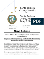 Andres Sanchez Coroner Investigation Results - ADMHS Community Resources