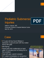 cfd - pediatric submersion injuries