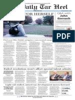 The Daily Tar Heel for Nov. 17, 2015