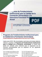 Estructura Presupuestal - MEF