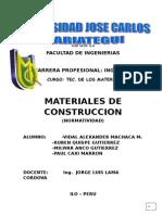 materiales civil