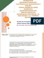 Elaboración de yogurt con probióticos (Bifidobacterium.pptx