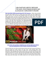 Situs Game Poker Online Penyedia Ruang VIP VVIP Terpercaya