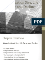 Organizational Size, Life Cycle and Decline FINAL