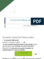 Ecuacion Lineal de Primer Orden-2