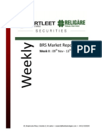 BRS Weekly Market Report - 13.11.2015