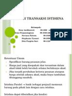 Akuntansi Transaksi Istishna Aksyar