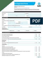 Preliminary Medical Appraisal Form v2