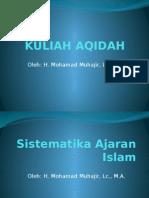1. Sistematika Ajaran Islam