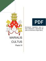 Marialis Cultus. Exhortación apostólica de Paulo VI
