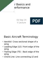 Aircraft Basics and Performance