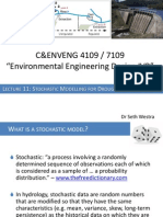 11 Stochastic Modelling of DroughtRiskAssessment