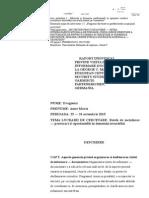 Anne Dragomir Raport Garmisch