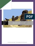 Antropología temas 3, 4 y 5
