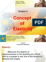 Chapter 6 - Concept of Elasticity