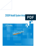 ZXSDR Node B Structure and Principle.pdf